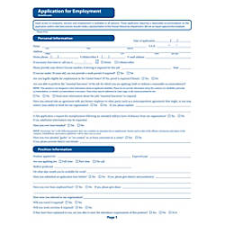 ComplyRight Healthcare Job Applications Pack Of