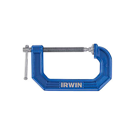 "IRWIN Quick Grip C-Clamp, 6"" Capacity"