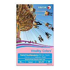 Xerox Vitality Colors Multipurpose Printer Paper