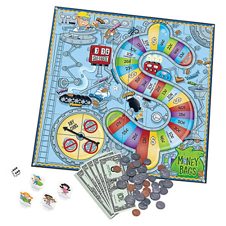 Learning Resources® Money Bags™ A Coin Value Game