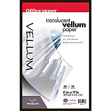 Office Depot Brand Tracing Paper 11