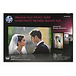 HP Premium Plus Glossy Photo Paper | 25 Sheets | Tabloid | 11 x 17 in | CV065A