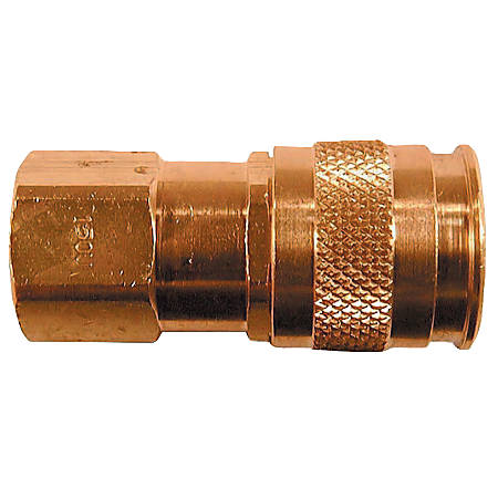 Coilflow U Series Automatic Universal Couplers, 1/4 in (NPT) F