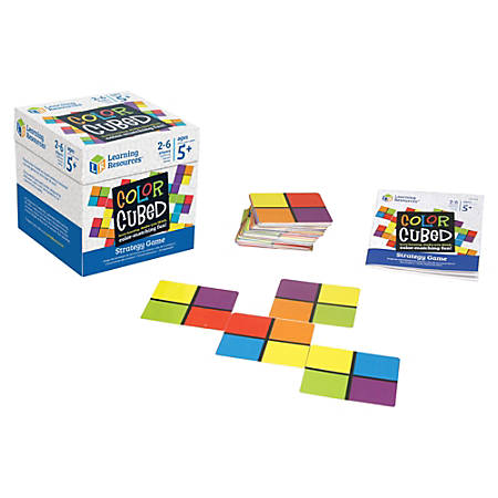 Learning Resources Color Cubed Strategy Game - Learning - Assorted