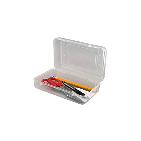 "Innovative Storage Designs Pencil Box, 8 1/2"" x 2 1/2"", Assorted (No Color Choice)"