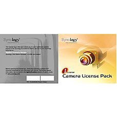 Synology IP Camera License Pack For