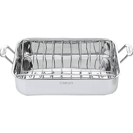 "Cuisinart 16"" Roasting Pan with Rack"