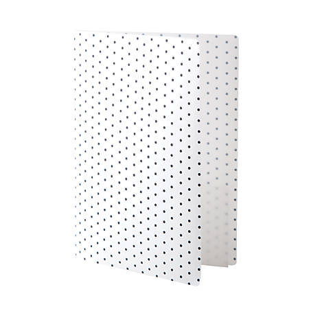 See Jane Work® Poly Expanding File Folder, Letter-Size, 6-Pocket, White