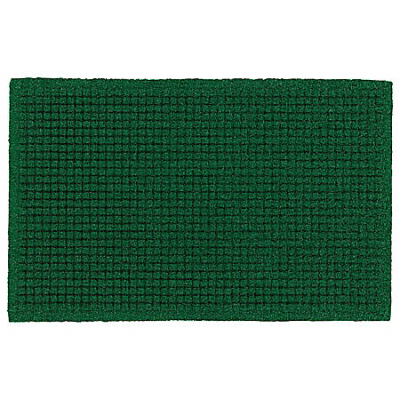 "The Andersen Company Brush Hog Plus Floor Mat, 36"" x 120"", 20% Recycled, Green Brush"