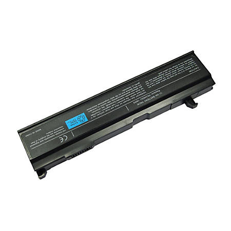 Gigantech PA3465 Laptop Replacement Battery For Toshiba Laptops, 10.8V, 4800 mAh, Black