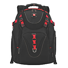 Wenger Maxxum Laptop Backpack BlackRed