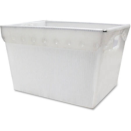 Mayline® Kwik-File Mailflow-To-Go™ Mail Totes, Carton Of 3