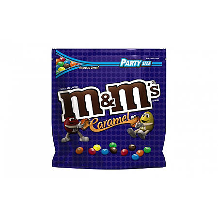 M&M's® Caramel Chocolate Candy, 38 Oz