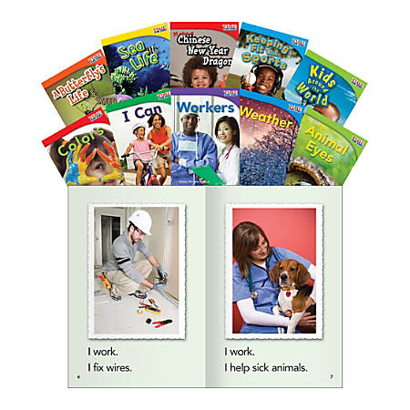 Teacher Created Materials TIME FOR KIDS® Nonfiction Book Set, Set 2, Set Of 10 Books, Grade 1