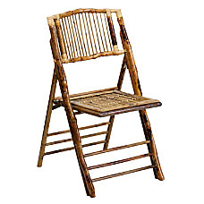 Flash Furniture American Champion Bamboo Folding