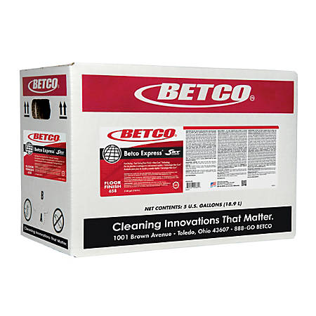 Betco Express Floor Finish, 719.36 Oz