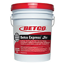 Betco Express Floor Finish 5 Gallon