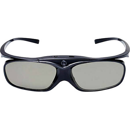 Viewsonic PGD-350 3D Glasses - For Projector - Shutter - 26.25 ft - LCD - 1,200:1 - DLP Link - Battery Rechargeable