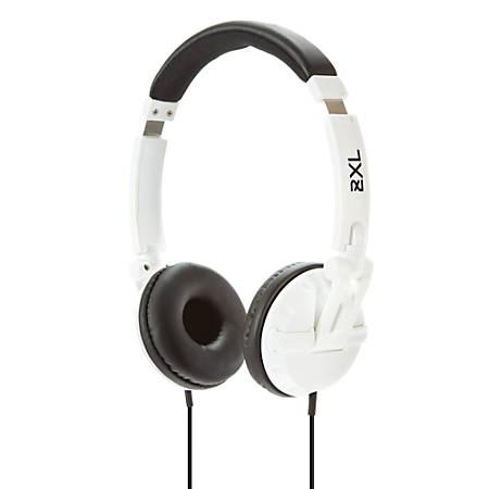"""Skullcandy Shakedown On-Ear Headphones, 47"""", 2XL, White"""