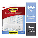 Command™ Picture Hanging Kit, 53-Piece, Assorted Sizes, Clear