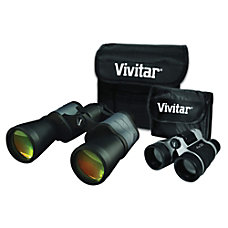 Cameras & Photo Binoculars & Telescopes Learned Vivitar Binocular Set New