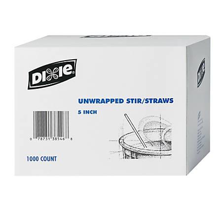 Dixie® Coffee Stirrers, Box Of 1,000 Stirrers