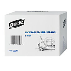 Dixie Coffee Stirrers Box Of 1000