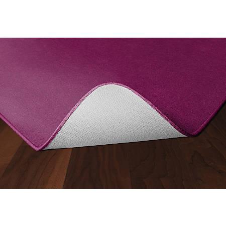 Flagship Carpets Americolors Rug, Rectangle, 12' x 15', Cranberry
