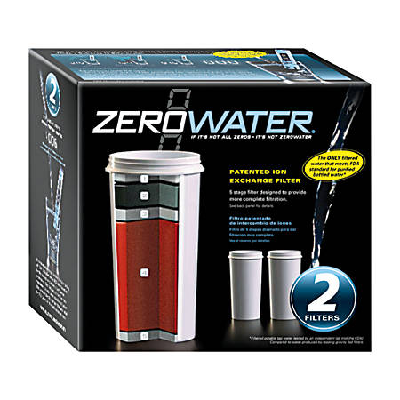 ZeroWater Filtration Systems Replacement Filters, Pack Of 2