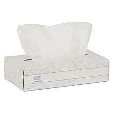 Tork 2 Ply Facial Tissues White