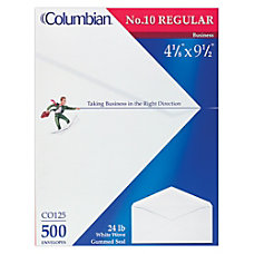 Columbian Business Envelopes 10 4 18