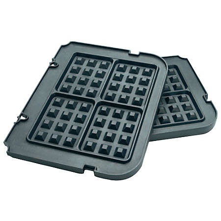 Cuisinart® GR-WAFP Waffle Plates For CuisinartGR-4N, Set Of 2