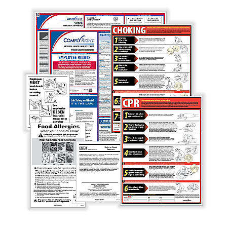 ComplyRight Federal, State And Restaurant Poster Subscription Service, English, Missouri