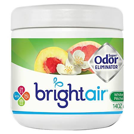 Bright Air Super Odor Eliminator Gel, 14 OZ., White