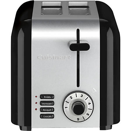 Cuisinart 2-Slice Compact Stainless Toaster