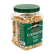 Superior Nut Fancy Salted Roasted Cashews