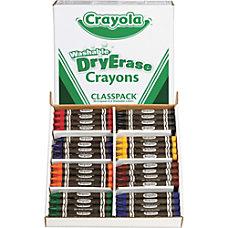 Crayola Dry erase Washable Crayons Classpack