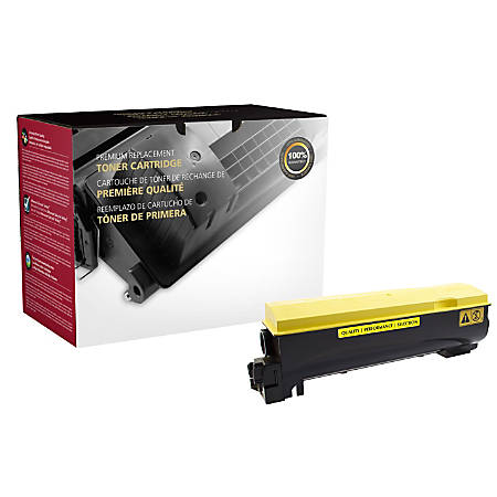 Clover Technologies Group™ 200694P (Kyocera® TK-562Y) Remanufactured Yellow Toner Cartridge