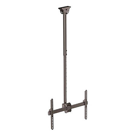 """StarTech.com Ceiling TV Mount For 32 to 75"""" TVs, 3.5' to 5' Pole"""