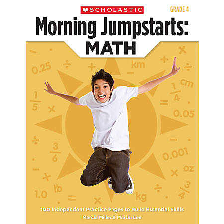 Scholastic Morning Jumpstarts: Math, Grade 4
