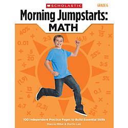 Scholastic Morning Jumpstarts Math Grade 6