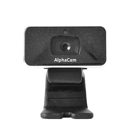 Data Locker TAA Compliant AlphaCam W 5MP USB 2.0 Webcam, Black