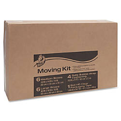 Duck Brand Moving Kit with Bubble