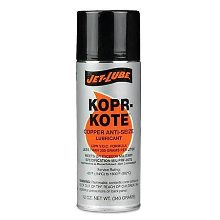 High Temperature Anti-Seize & Gasket Compounds, 12 oz Aerosol Can
