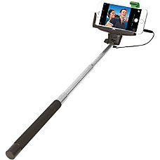 ReTrak Wired Selfie Stick BlackChrome