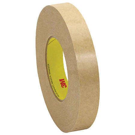 """3M™ 9498 Adhesive Transfer Tape Hand Rolls, 3"""" Core, 1"""" x 120 Yd., Clear, Case Of 36"""