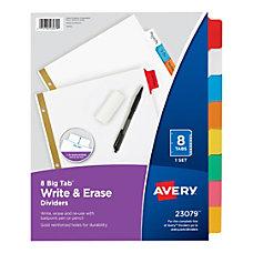 Avery Big Tab Write On Tab