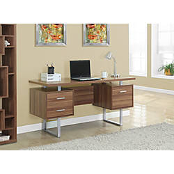 Monarch Specialties Retro Style Computer Desk