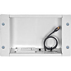 Peerless Recessed Cable and Storage Management