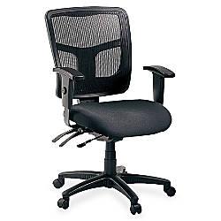 Lorell Ergonomic MeshFabric Mid Back Chair